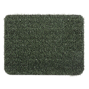Clean Machine Green Astro Door Mat 45cm x 60cm