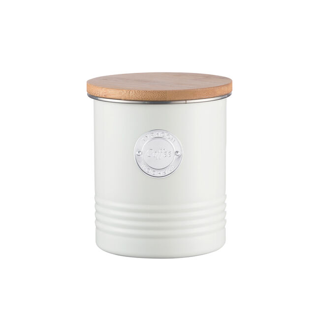 Typhoon Living Coffee Canister Cream 1L