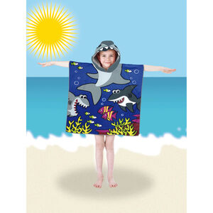 Poncho Pals Kids Beach Towel