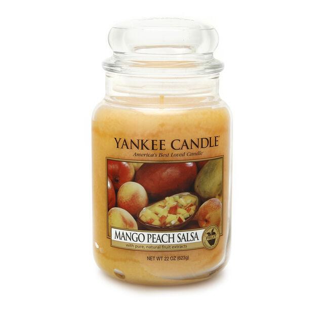 Yankee Mango Peach Salsa Large Jar