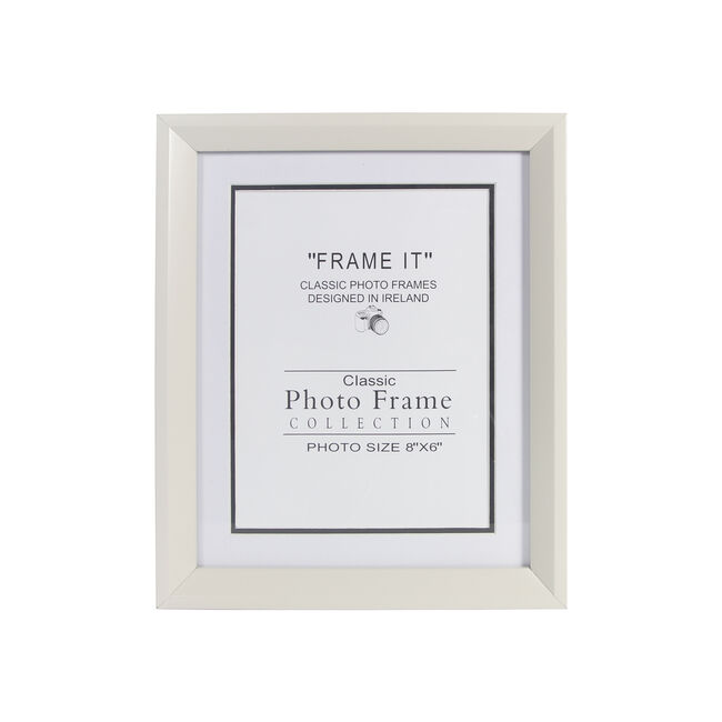 Cream Photo Frame 6x8""