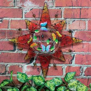 Decorative Glass Sun Garden Wall Art