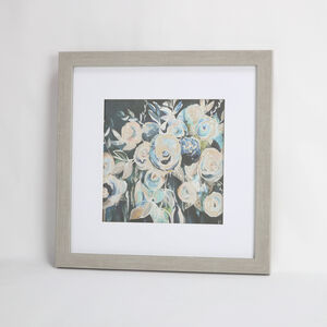 Language of Flowers Framed Print 55x55cm