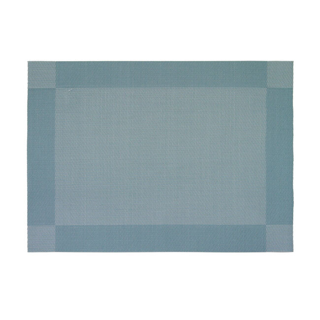 Netted Oxford Placemat - Duck Egg