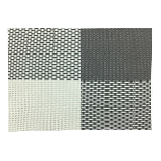 Cube Woven Grey Placemats