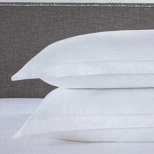 500TC Cotton Oxford Pillowcase Pair - White
