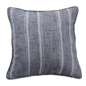 Piper Stripe Cushion 45x45cm - Grey