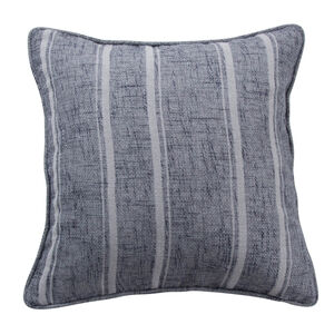 Piper Stripe Grey Cushion 45cm x 45cm