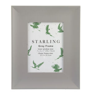 Starling Grey Frame 5x7