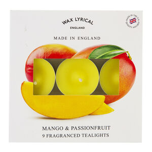 Mango & Passionfruit Box of 9 Tealights