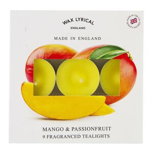 Mango & Passionfruit Box of 9 Tealights