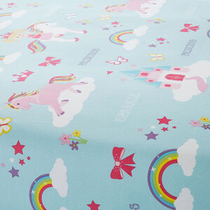 PRINCESS AND SPARKLE Junior Bed Fitted Sheet