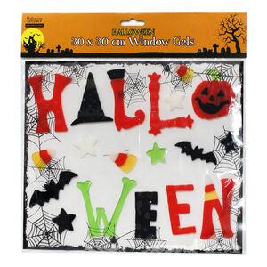 Halloween Window Gels 30cm x 30cm