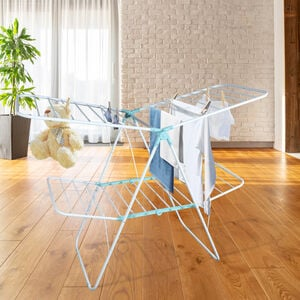 Carina & Co Dual Layers Adjustable Clothes Airer