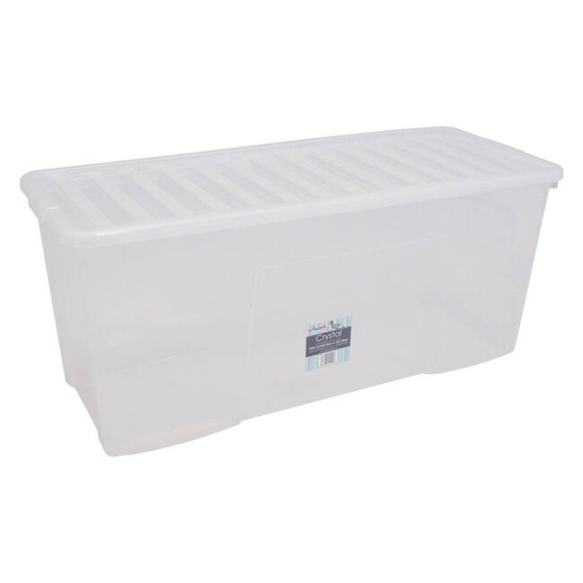 Wham Crystal Clear Box with Lid