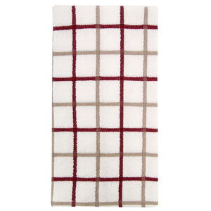 Multi Check Tea Towel Berry