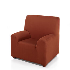 Regal Mills Easystretch Rust Armchair Cover