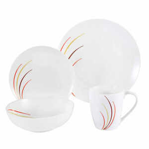 Rainbow Dinner Set 16 Piece Dinner Set