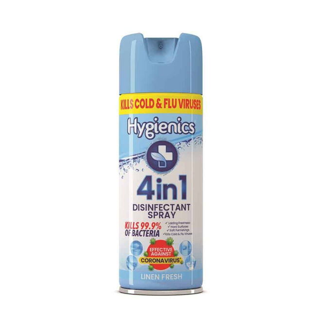Hygienics Disinfectant Spray Linen 400ml
