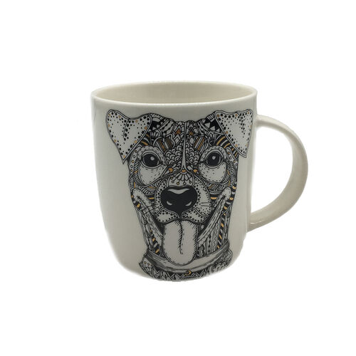 Abney & Croft Jack Russell Terrier Mug 13oz