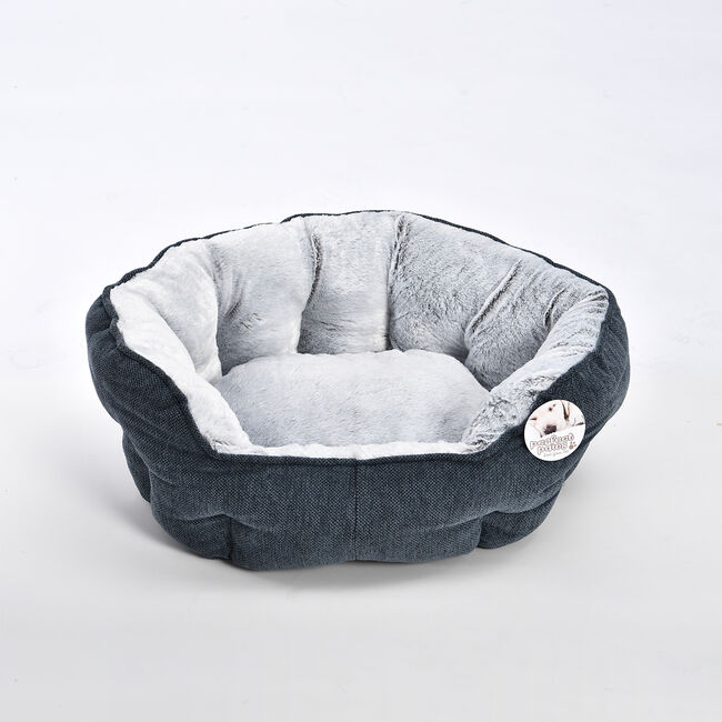Soft Plush Chenille Pet Bed - Medium