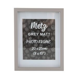 Metz Grey Matt Photo Frame 8x10""