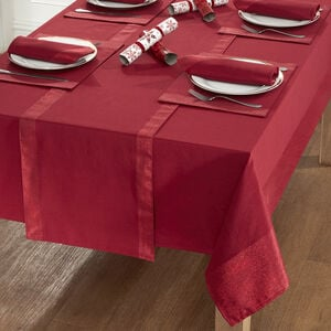 Shimmer Trim Table Cloth