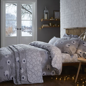 Brushed Cotton Sheep Duvet Cover