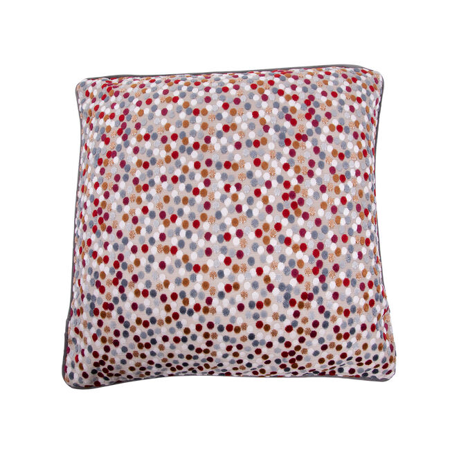 Sophie Spot Cushion 45 x 45cm - Berry