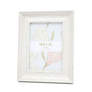 "Millie Photo Frame 5x7"" - Snow"