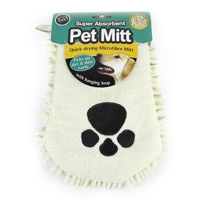 Microfibre Pet Mitt