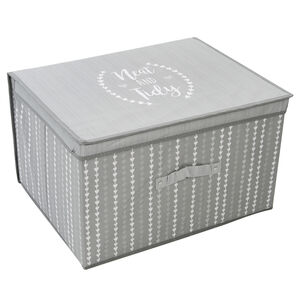 Neat & Tidy Grey Foldable Storage Chest