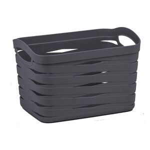 Ribbon Storage Basket 12L - Charcoal