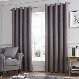Ribbed Chenille Curtain