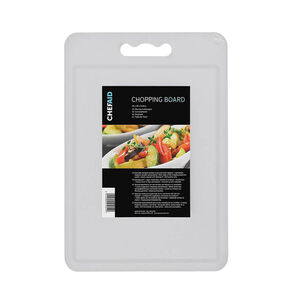 Chef Aid White Chopping Board - 35 x 25cm