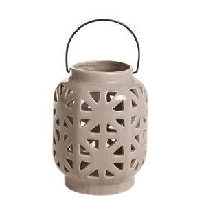 Lattice Ceramic Lantern