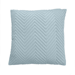 Triangle Stitch Cushion 45x45cm - Mint