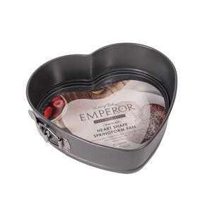 Emperor Grey Non-Stick Heart Shape Springform Pan