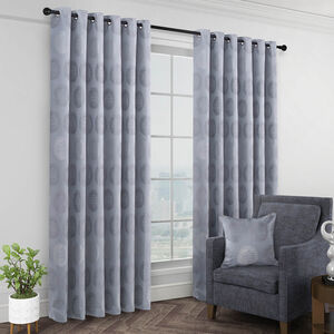 TURIN DUCK EGG 66x54 Curtain
