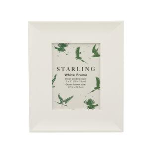 Starling White Frame 5x7