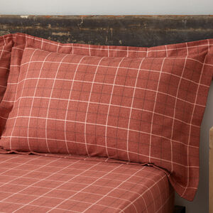 Brushed Cotton Aine Terra Pillowcase Pair