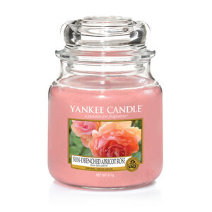 Yankee Candle Sun-Drenched Apricot Rose Medium Jar