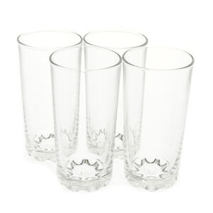 Essential Hob Nob Hi-Ball Glasses 4 Pack