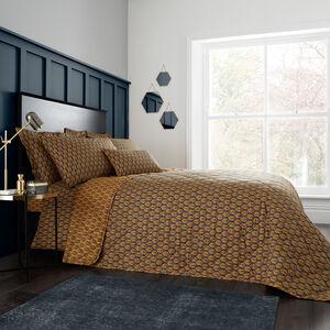 Maria Ochre Bedspread 200x220cm