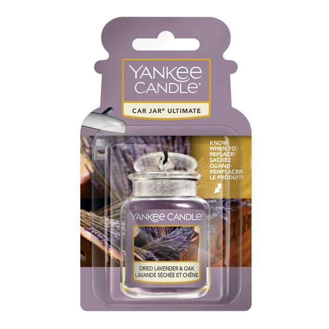 Yankee Candle Ultimate CarJar Dried Lavender & Oak
