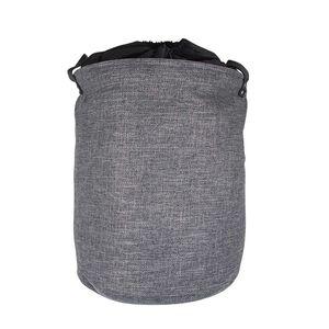 Northern Shore Fabric Laundry Hamper - Dark Grey
