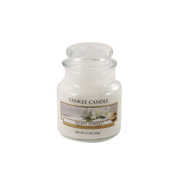 Yankee Candle Fluffy Towels Small Jar