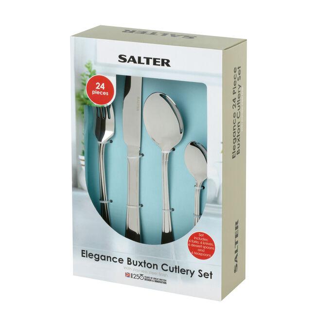 Salter Buxton Cutlery Set 24 Piece