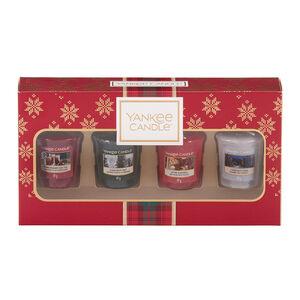 Yankee Christmas 4 Votive Gift Set
