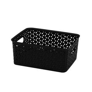 4L Basket Black 25x20x11cm